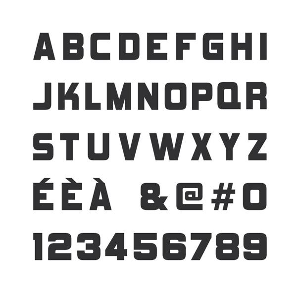 Alphabet complet quatro designquatro design - Alphabet complet ...