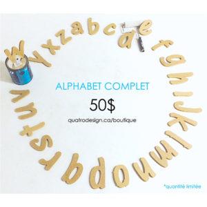 Promo Alphabet