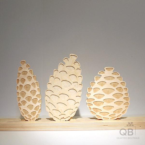 Grandes cocottes merisier