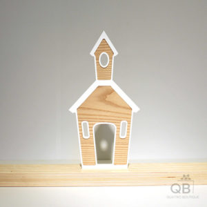 Église plastique-frêne