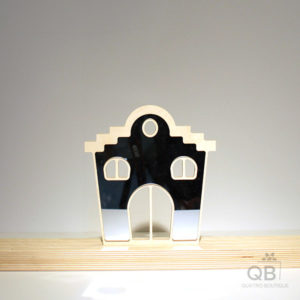 Magasin merisier-miroir