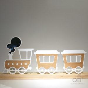 Train plastique-frêne